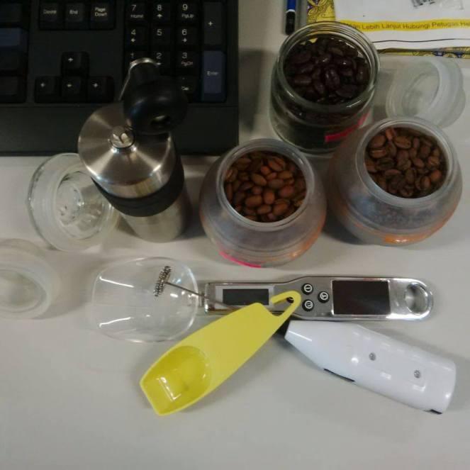 Coffee beans lagi